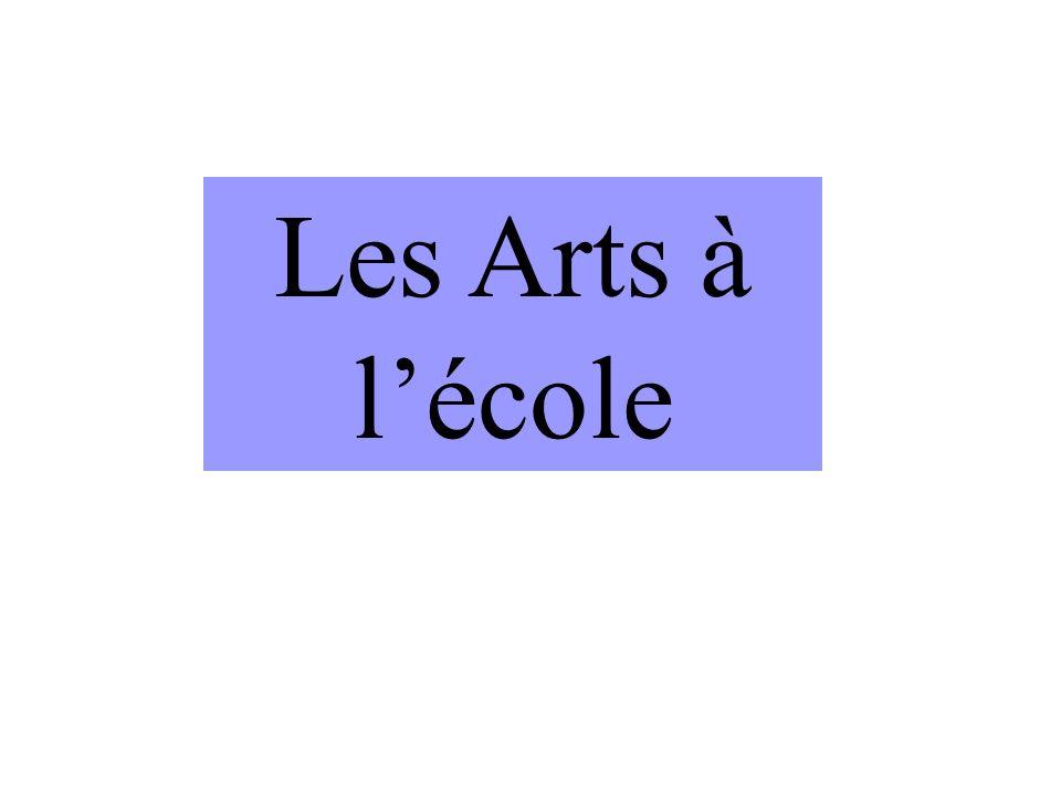 Les Arts à l'école