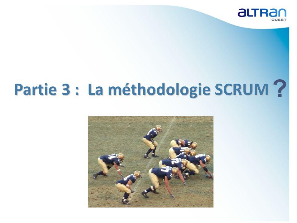 Partie 3 : La méthodologie SCRUM