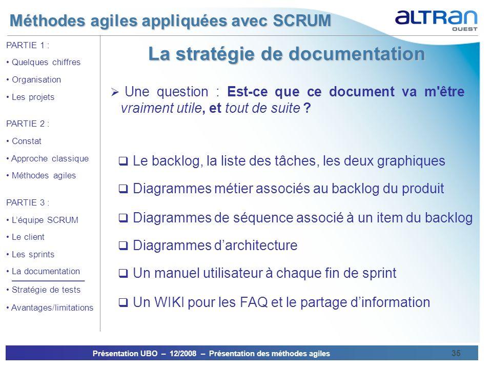 La stratégie de documentation