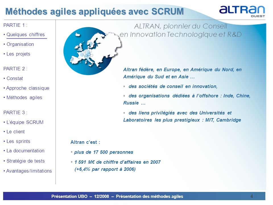 ALTRAN, pionnier du Conseil en Innovation Technologique et R&D