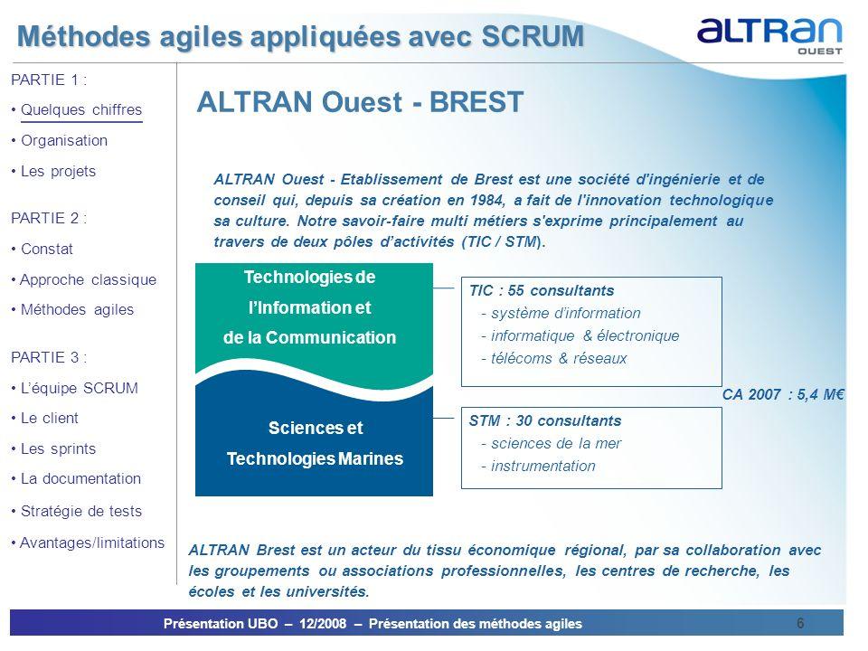 ALTRAN Ouest - BREST Technologies de l'Information et