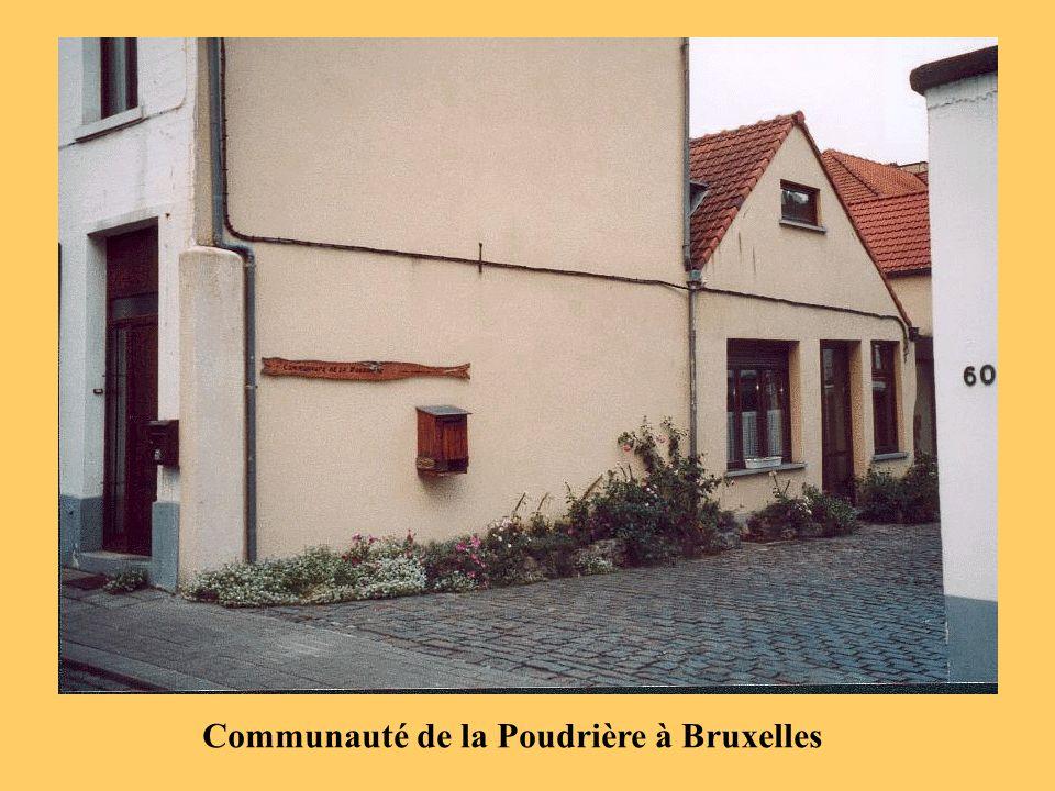 Communauté de la Poudrière à Bruxelles