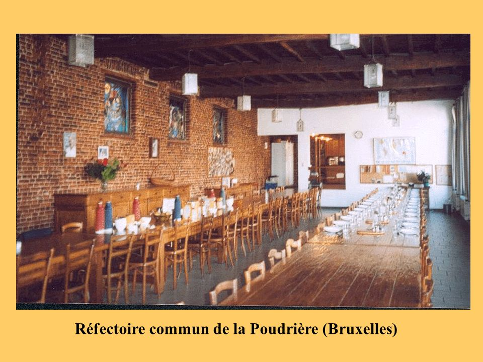 Réfectoire commun de la Poudrière (Bruxelles)
