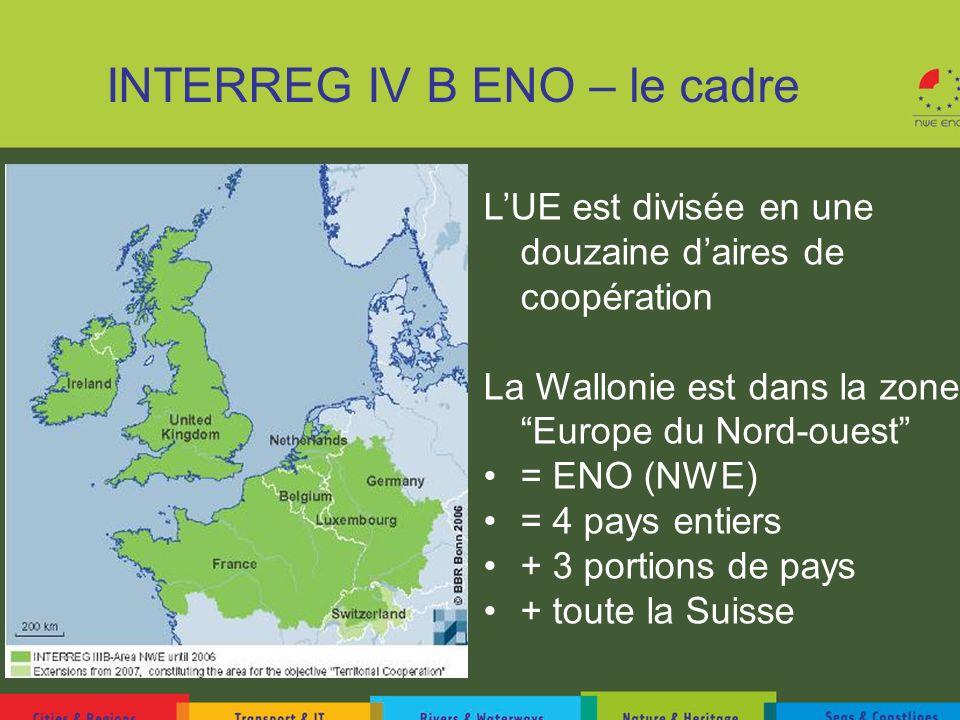 INTERREG IV B ENO – le cadre