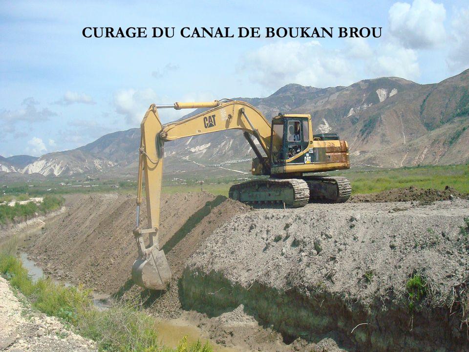 CURAGE DU CANAL DE BOUKAN BROU