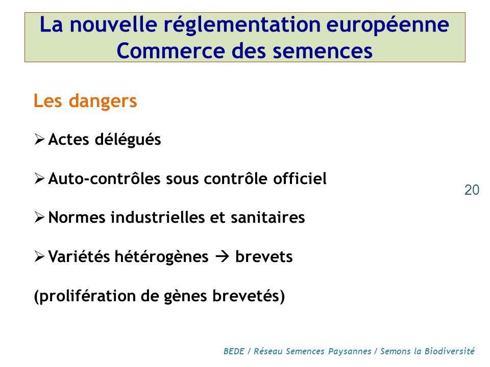 La nouvelle réglementation européenne