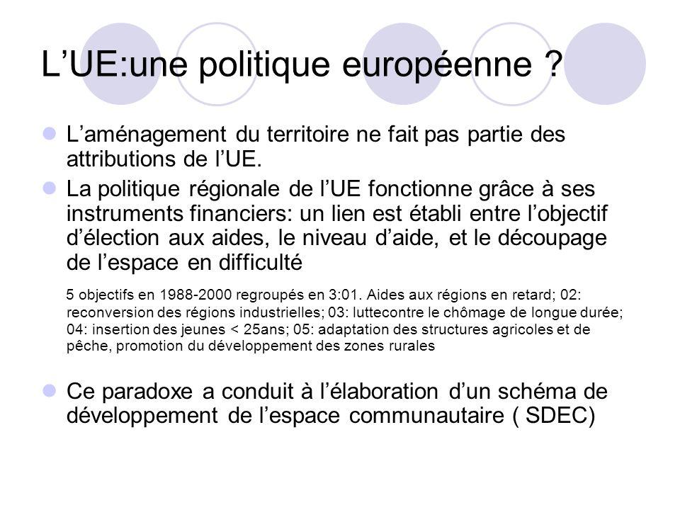 L'UE:une politique européenne