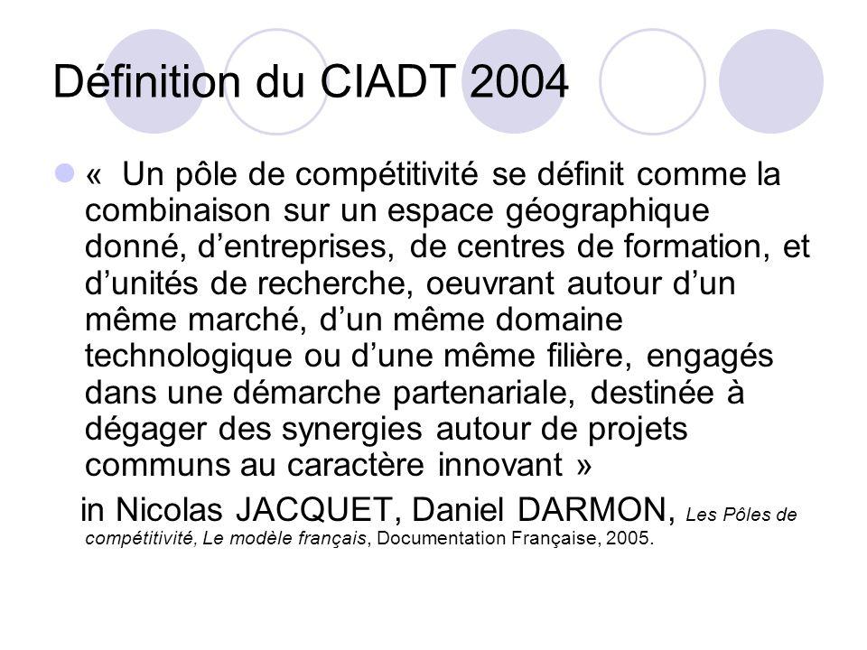 Définition du CIADT 2004