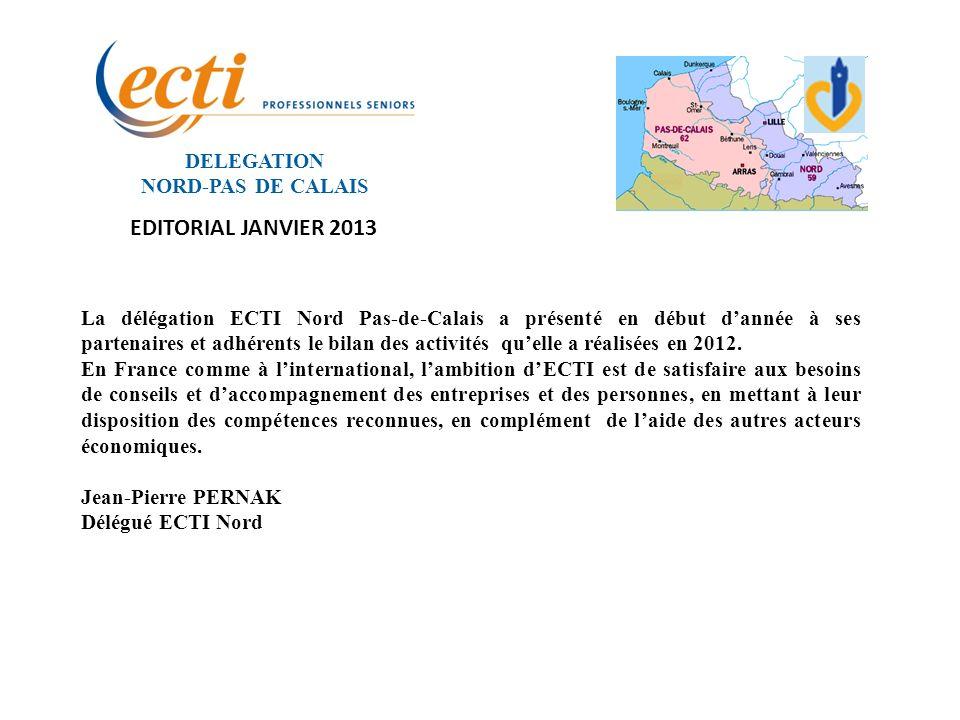 DELEGATION NORD-PAS DE CALAIS