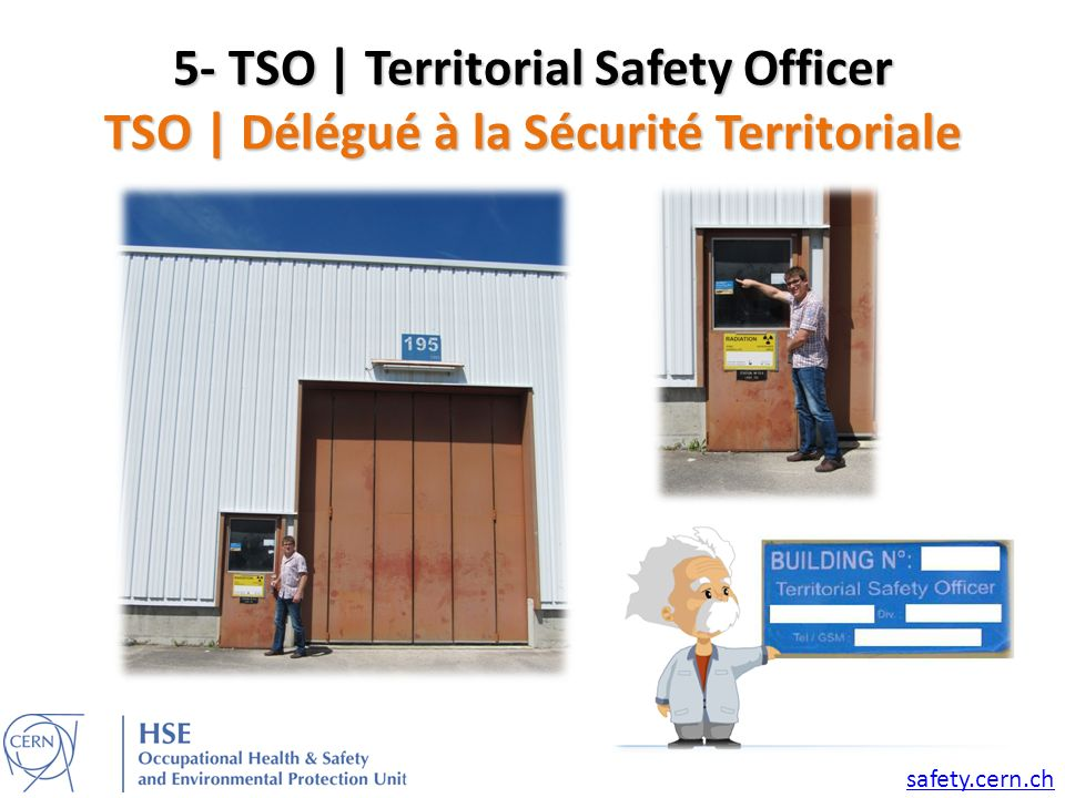 5- TSO | Territorial Safety Officer TSO | Délégué à la Sécurité Territoriale