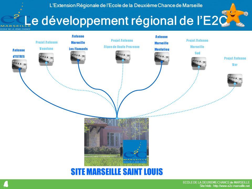 Le développement régional de l'E2C