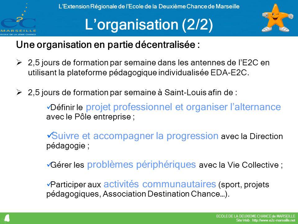 L'Extension Régionale de l'Ecole de la Deuxième Chance de Marseille