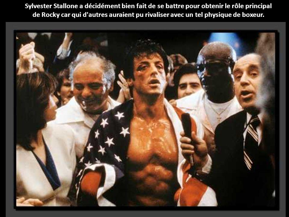 Sylvester Stallone a décidément bien fait de se battre pour obtenir le rôle principal