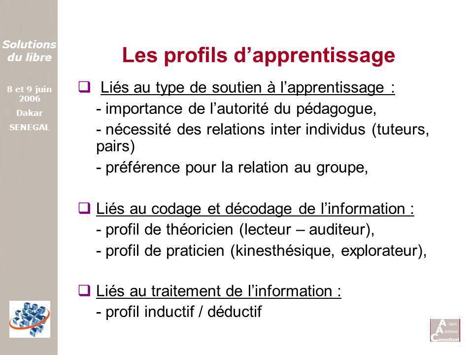 Les profils d'apprentissage