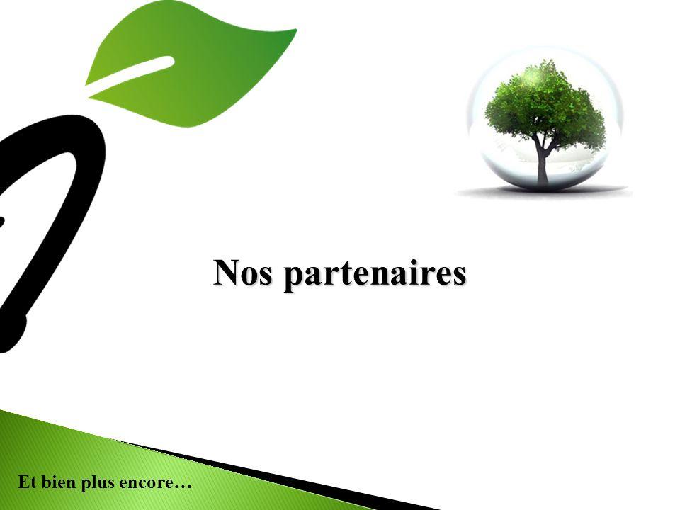 Nos partenaires 7