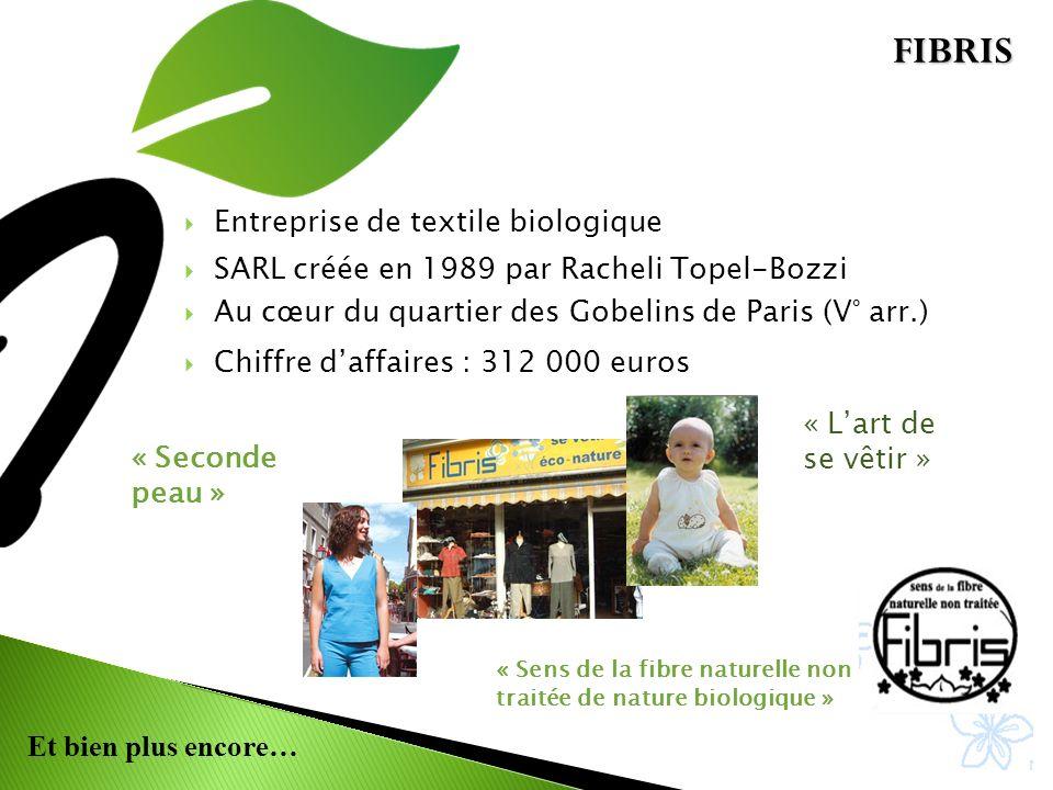 FIBRIS Entreprise de textile biologique
