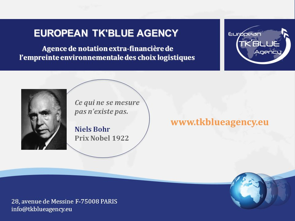 EUROPEAN TK BLUE AGENCY