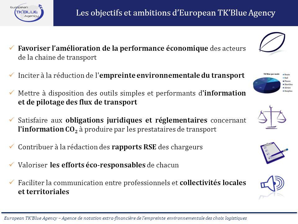 Les objectifs et ambitions d'European TK'Blue Agency