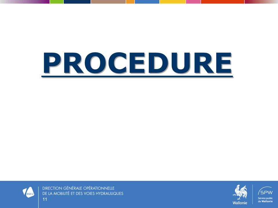 PROCEDURE 11