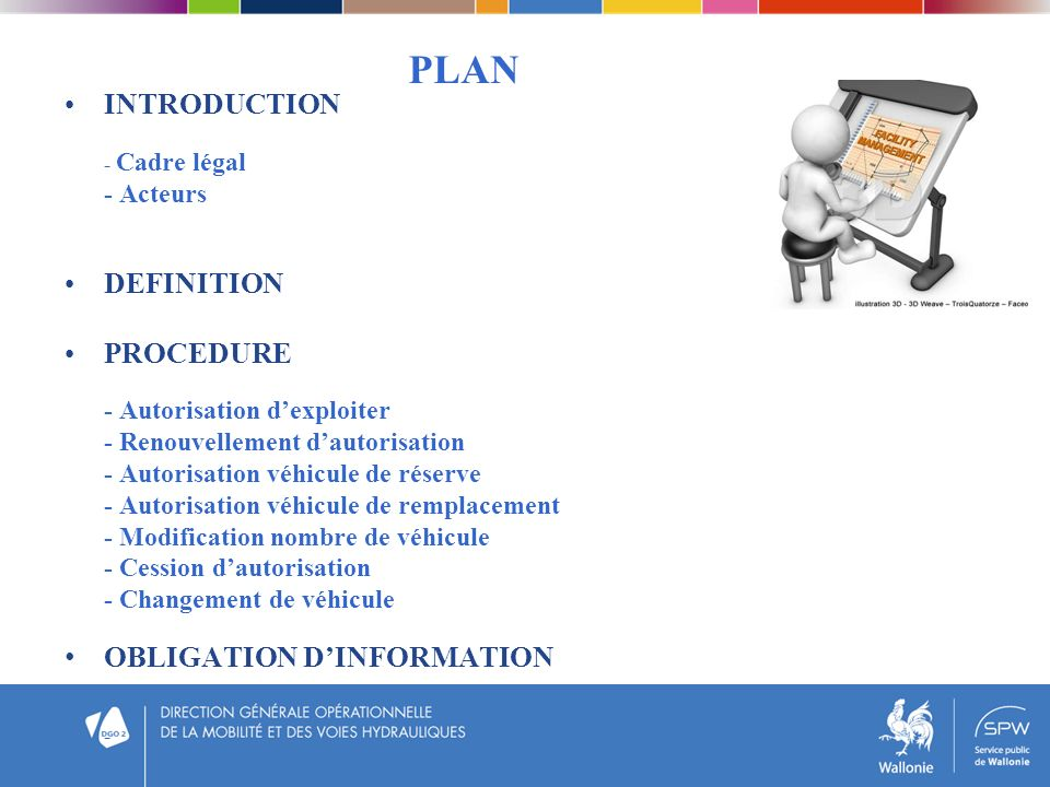 PLAN INTRODUCTION DEFINITION PROCEDURE OBLIGATION D'INFORMATION