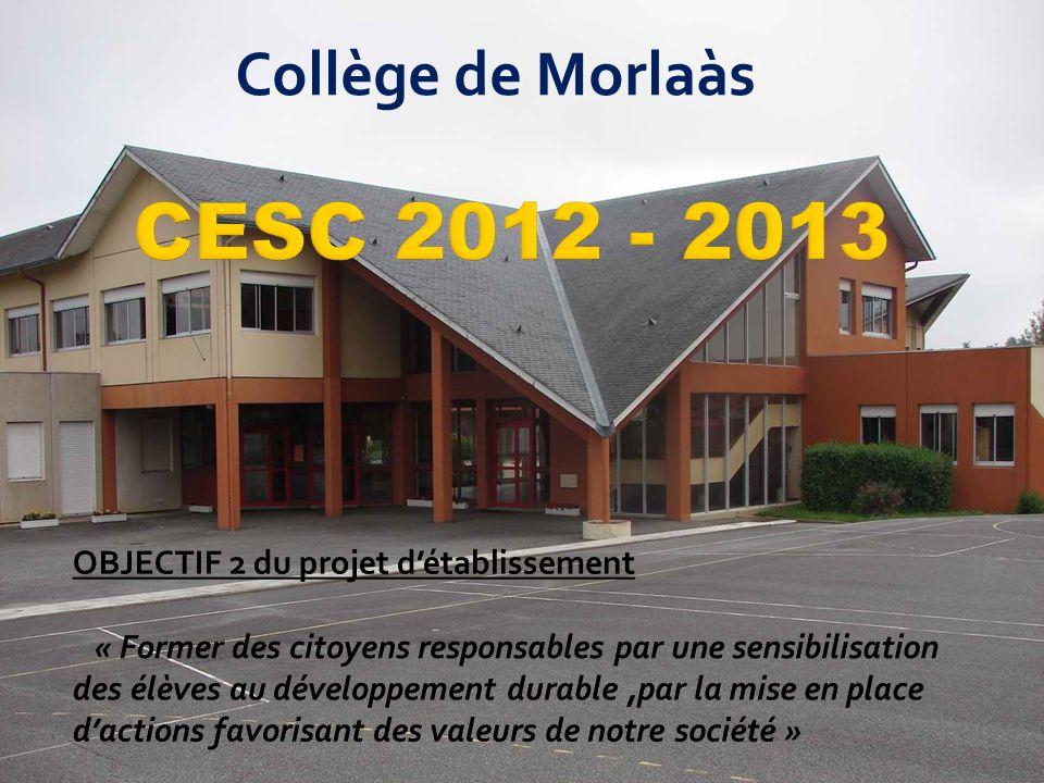 CESC 2012 - 2013 Collège de Morlaàs