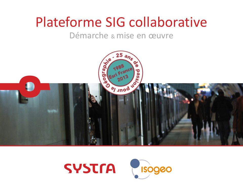 Plateforme SIG collaborative Démarche & mise en œuvre
