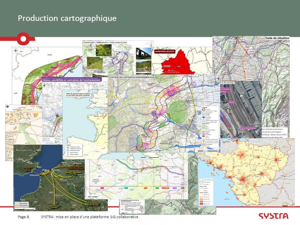 Production cartographique