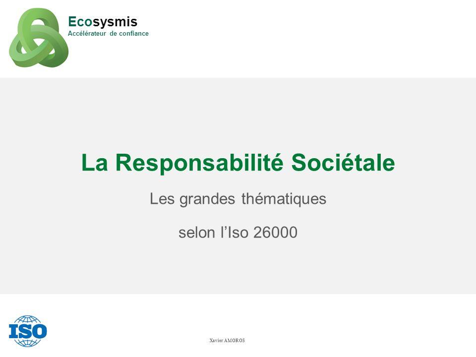 La Responsabilité Sociétale