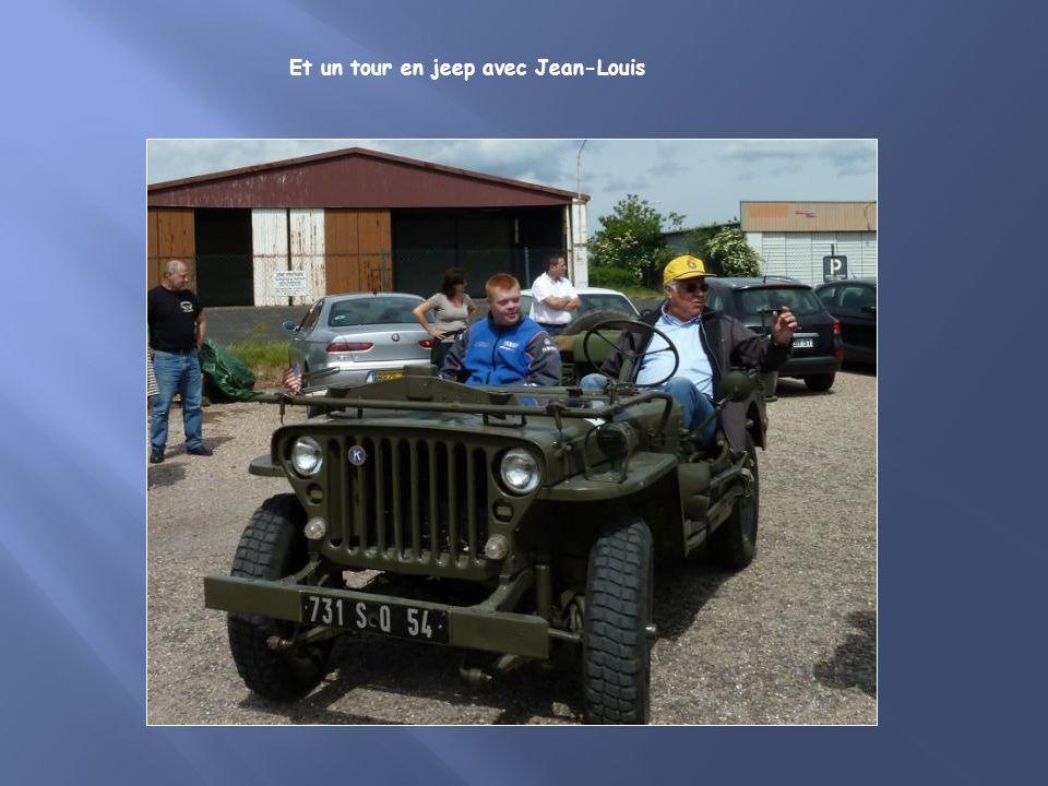 Et un tour en jeep avec Jean-Louis
