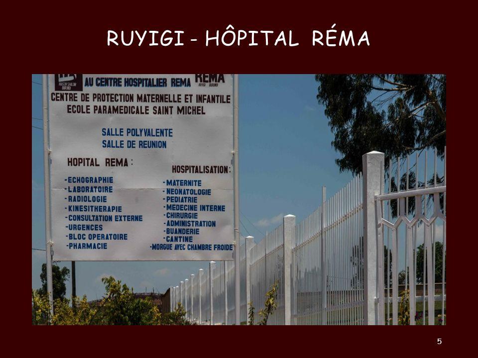 Ruyigi - Hôpital Réma