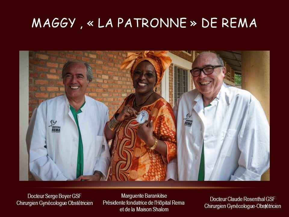 Maggy , « la patronne » de rEma