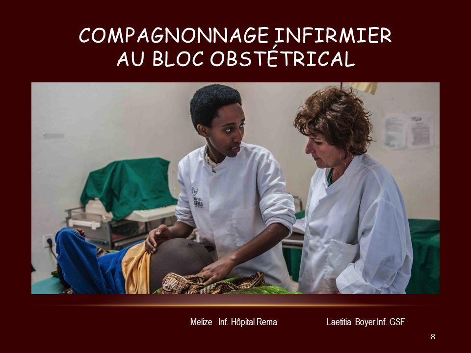 Compagnonnage infirmier au bloc obstétrical