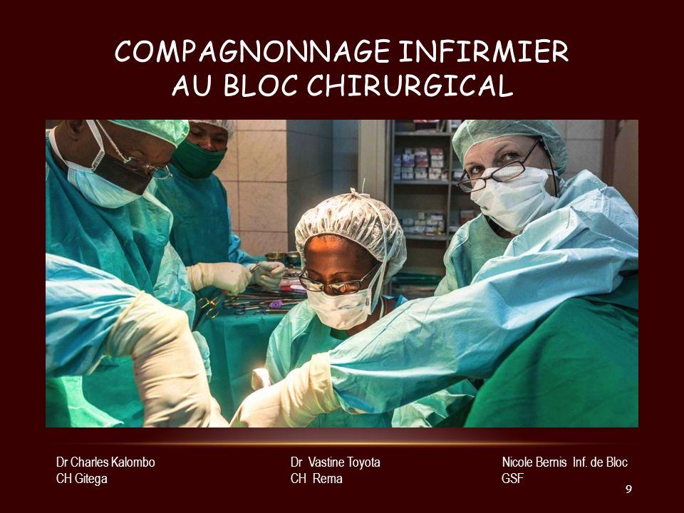 Compagnonnage infirmier au bloc chirurgical