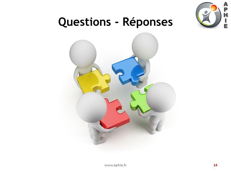 Questions - Réponses www.aphie.fr