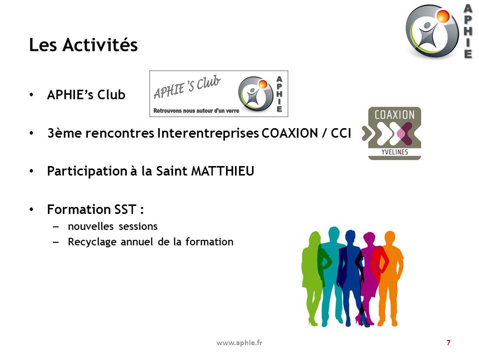 Les Activités APHIE's Club
