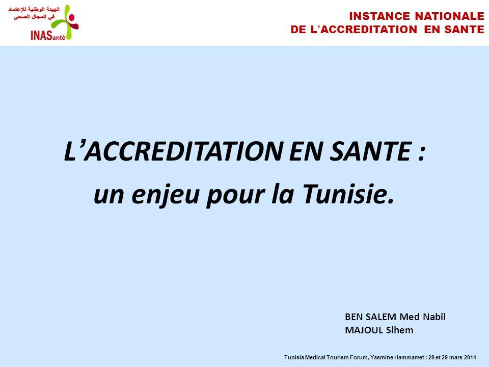 INSTANCE NATIONALE DE L'ACCREDITATION EN SANTE