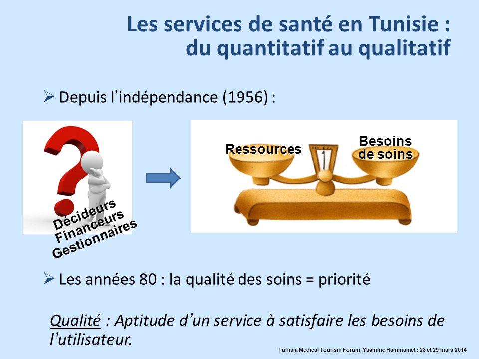 Les services de santé en Tunisie : du quantitatif au qualitatif