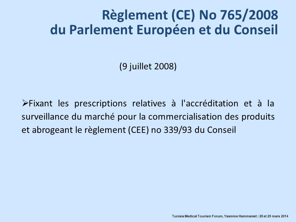 du Parlement Européen et du Conseil