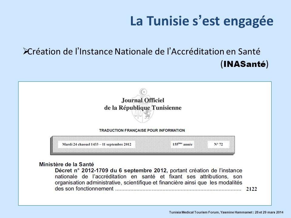 La Tunisie s'est engagée