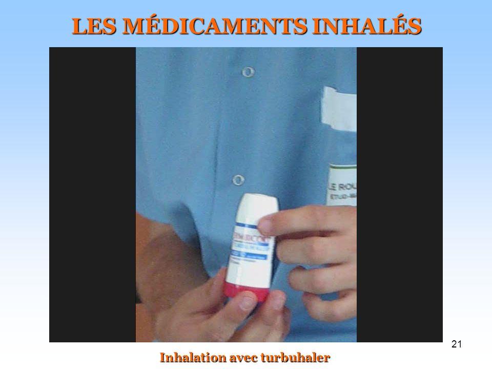 LES MÉDICAMENTS INHALÉS