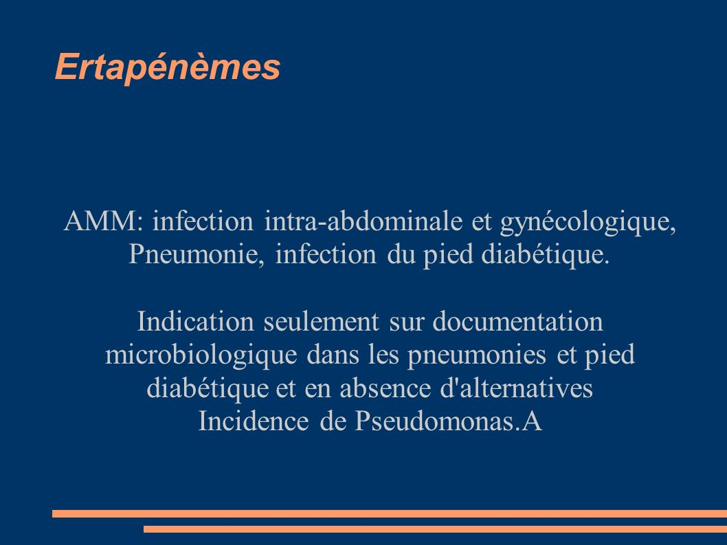 Incidence de Pseudomonas.A