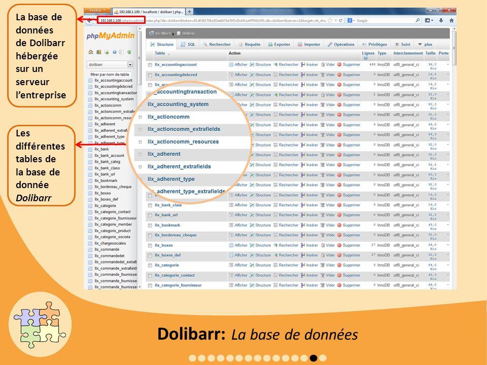 Dolibarr: La base de données
