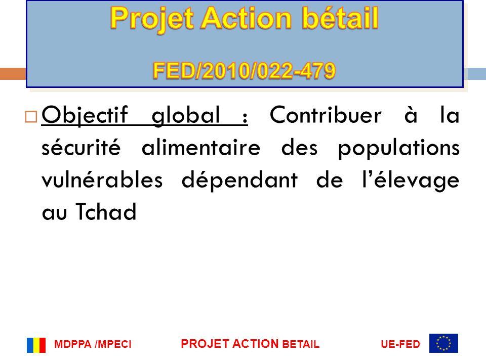 Projet Action bétail FED/2010/022-479.