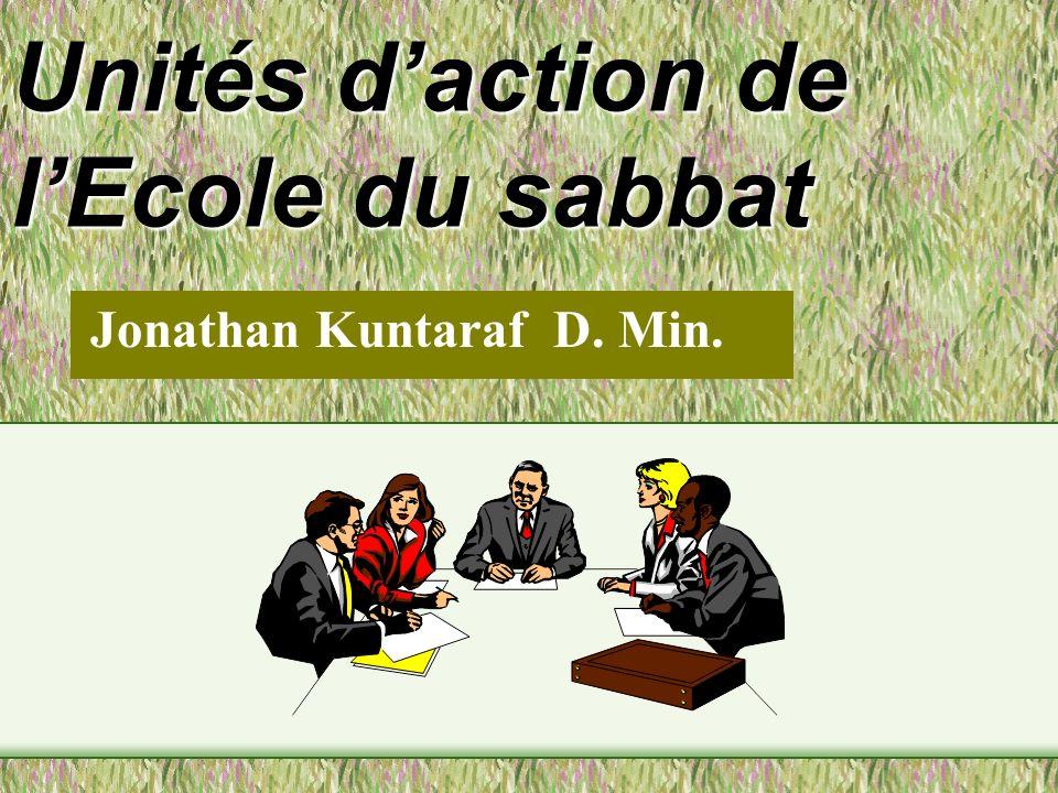 Unités d'action de l'Ecole du sabbat