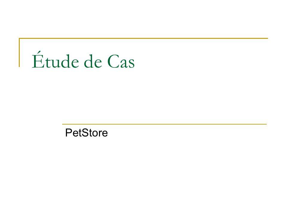 Étude de Cas PetStore