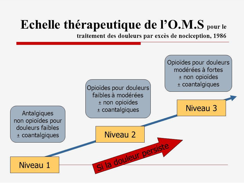 Echelle thérapeutique de l'O. M