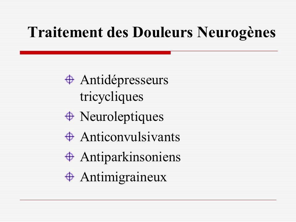 Traitement des Douleurs Neurogènes