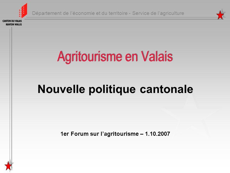 Agritourisme en Valais