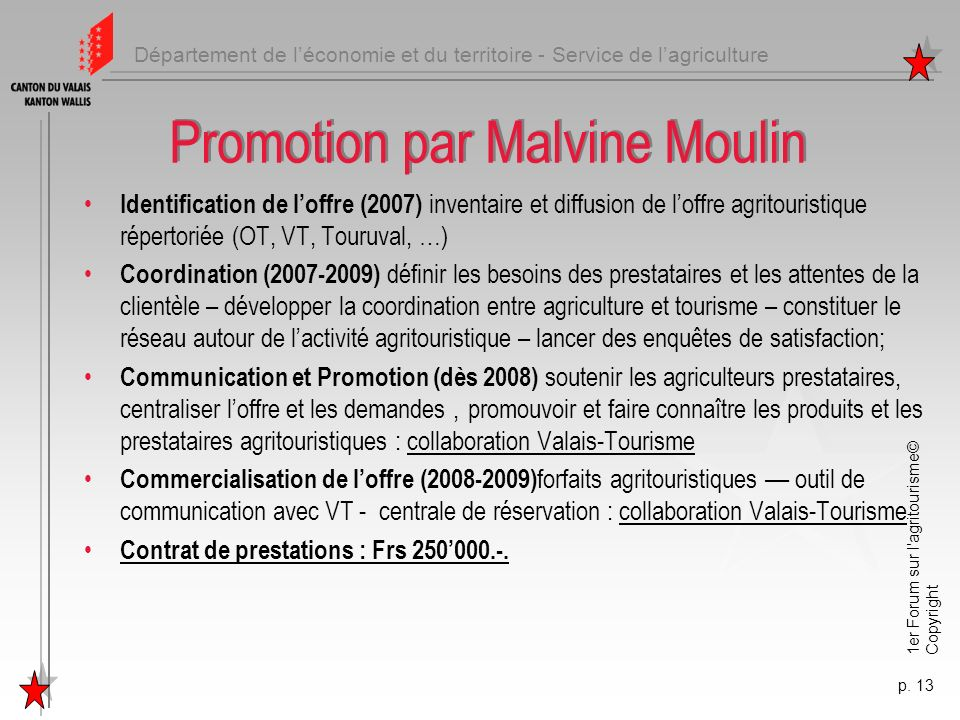Promotion par Malvine Moulin