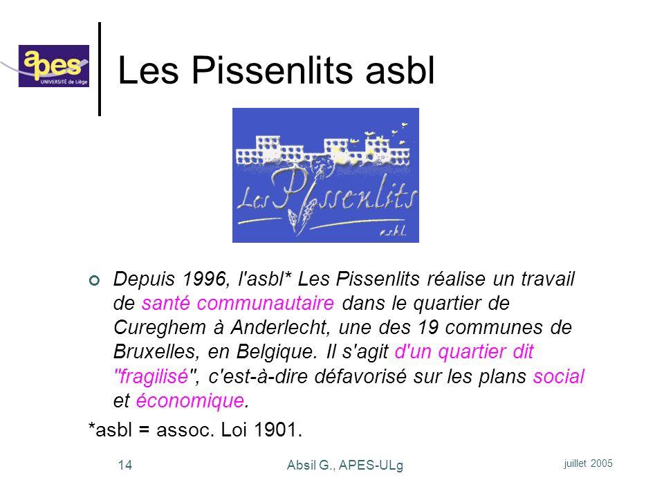 Les Pissenlits asbl